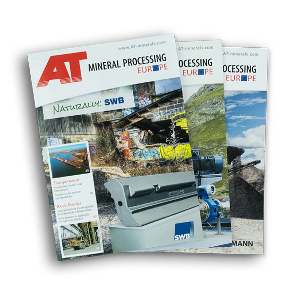 AT MINERAL PROCESSING EUROPE Single issue