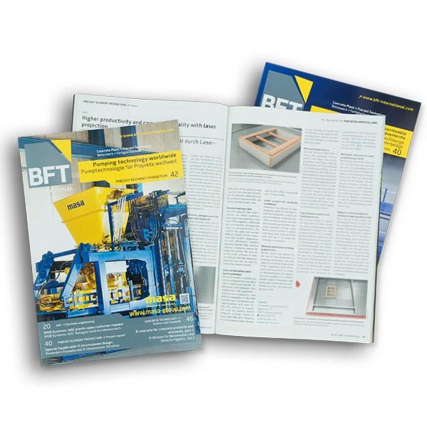 BFT INTERNATIONAL Subscription